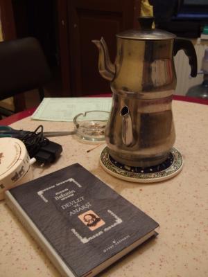 Schwarzer Tee und Bakunin